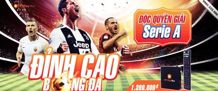 Bóng Đá Serie A Trên FPT Play Box