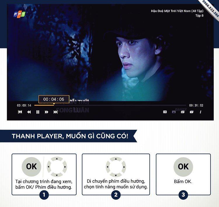 Công cụ Player Truyên hình FPT