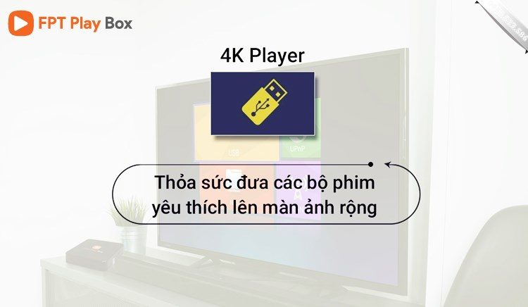 4k Player - FPT Play Box