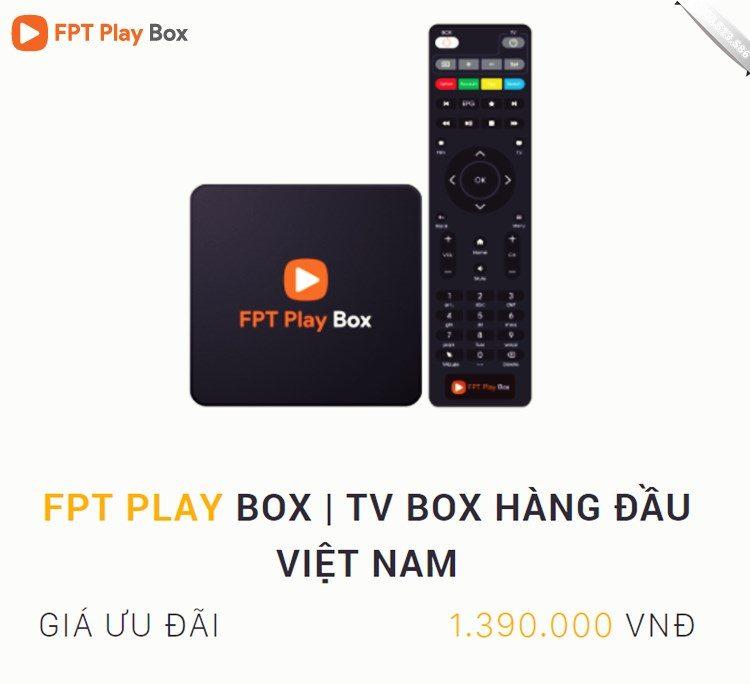 Đặt hàng FPT Play Box