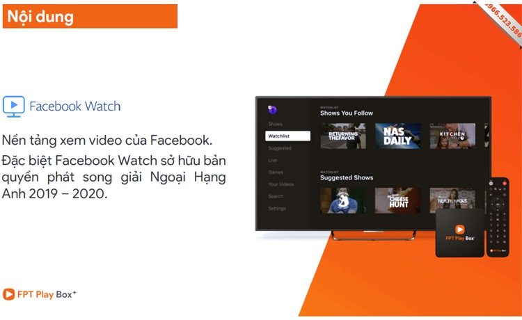 Facebook Watch - FPT Play Box