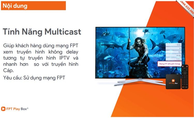 MultiCast - FPT Play Box