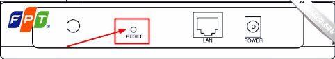 Cách reset modem
