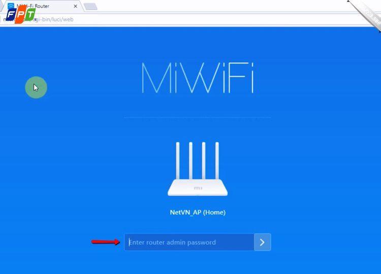 Đổi mật khẩu wifi mi